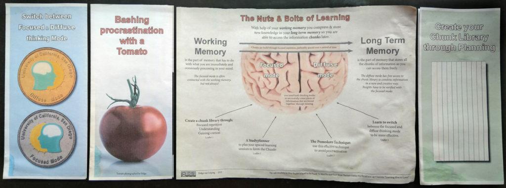 Samenvattingen van de Learning how tot learn cursus op coursera.