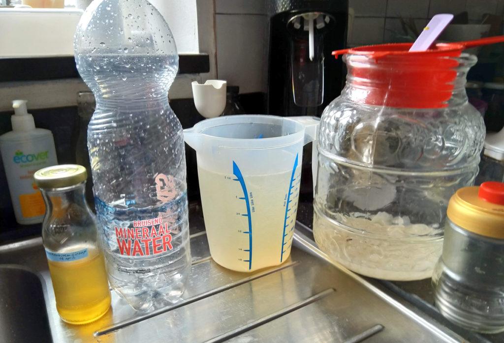 Water kefir bereiding