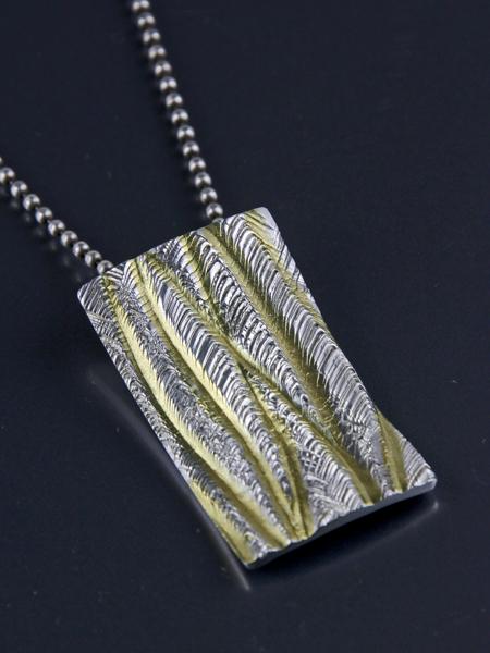 Zilveren cambia hanger