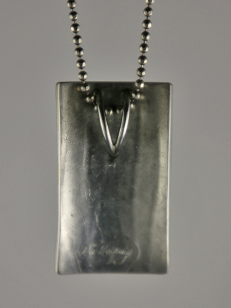 Cambia #2 zilver hanger rechthoek