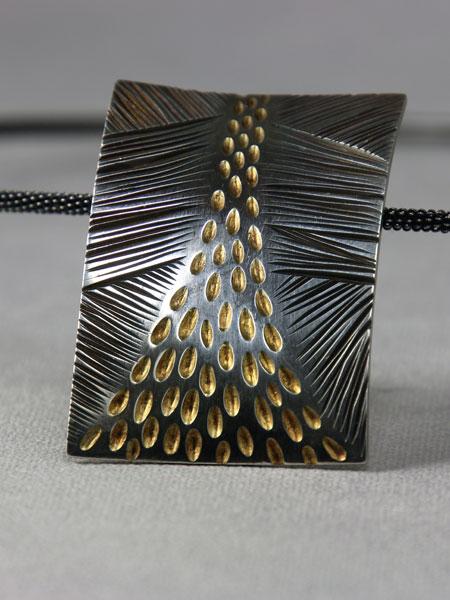 Zilveren hanger Bright Angel #2