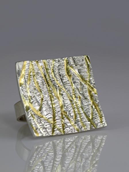 Zilveren cambia ring