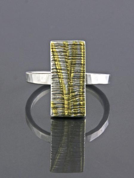Zilveren kleine Cambia ring