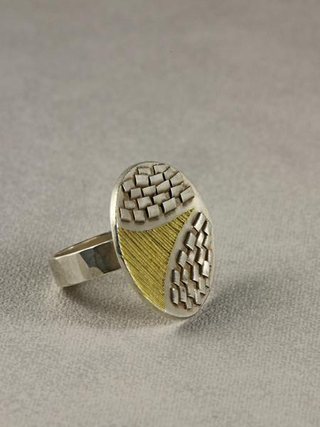 zilveren ring Antelope